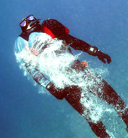 Freediver vest Recovery